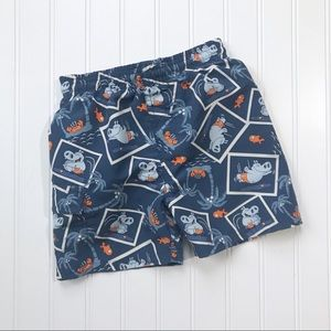 •The Children's Place• Hippo swim trunks